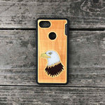 Load image into Gallery viewer, Bald Eagle - Engraved Wood Case - Black