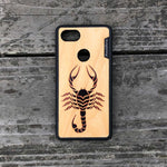 Load image into Gallery viewer, Scorpion - Wood & Resin Case - Black