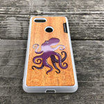 Load image into Gallery viewer, Octopus - Wood & Resin Case - White