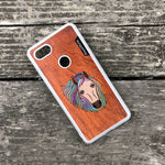 Load image into Gallery viewer, Horse - Wood & Resin Case - White