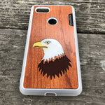 Load image into Gallery viewer, Bald Eagle - Wood & Resin Case - White