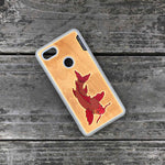 Load image into Gallery viewer, Koi Fish - Engraved Wood & Resin Case - White