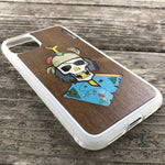 Load image into Gallery viewer, Dead Pirate - Wood & Resin Case - White