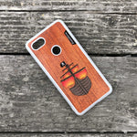 Load image into Gallery viewer, Pirate Ship - Wood & Resin Case - White