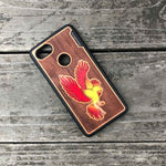 Load image into Gallery viewer, Phoenix - Engraved Wood & Resin Case - Black