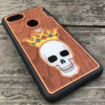 Load image into Gallery viewer, Forever King - Engraved Wood & Resin Case - Black