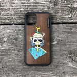 Load image into Gallery viewer, Dead Pirate - Wood & Resin Case - Black
