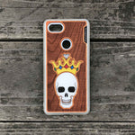 Load image into Gallery viewer, Forever King - Engraved Wood & Resin Case - White