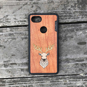 Elk - Wood & Resin Case - Black