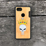 Load image into Gallery viewer, Punisher Skull in Crown - Wood & Resin Case - Black