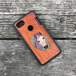 Load image into Gallery viewer, Horse - Wood & Resin Case - Black