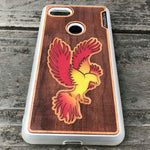 Load image into Gallery viewer, Phoenix - Engraved Wood & Resin Case - White