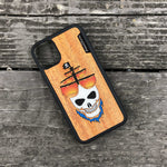 Load image into Gallery viewer, Ghost Pirate Ship - Wood & Resin Case - Black