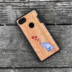 Load image into Gallery viewer, Baby Elephant - Wood & Resin Case - Black