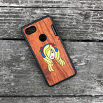 Load image into Gallery viewer, Music Girl - Wood & Resin Case - Black