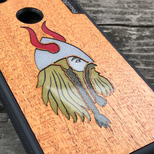 Viking - Wood & Resin Case - Black
