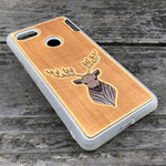 Load image into Gallery viewer, Elk - Engraved Wood & Resin Case - White