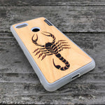 Load image into Gallery viewer, Scorpion - Wood & Resin Case - White