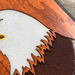 Load image into Gallery viewer, Bald Eagle - Wood & Resin Case - Black