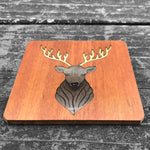 Load image into Gallery viewer, Elk - FossilForm drink coaster