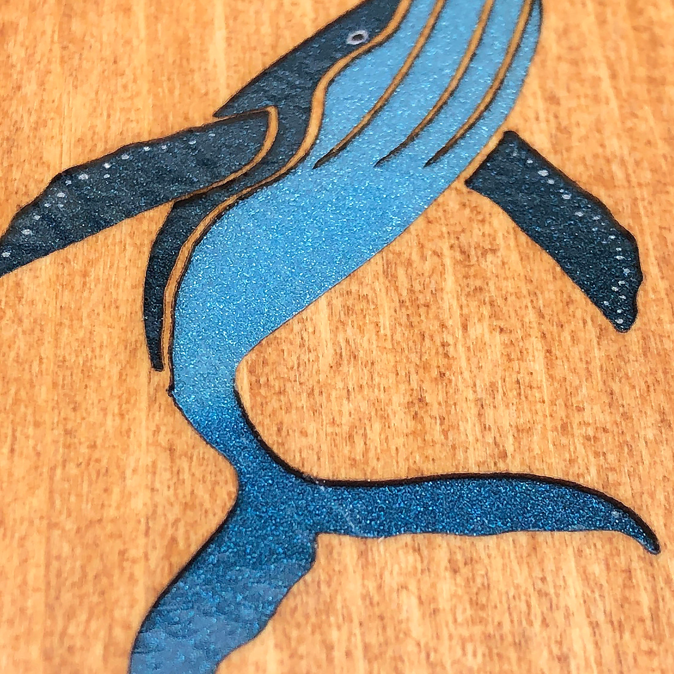Humpback Whale - FossilForm drink coaster