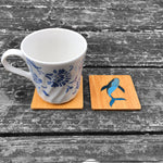 Load image into Gallery viewer, Humpback Whale - FossilForm drink coaster