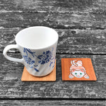 Load image into Gallery viewer, Lazy Cat - FossilForm drink coaster