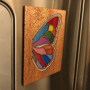 Butterfly Wing Fridge Magnet