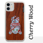 Load image into Gallery viewer, Lazy Cat - Wood & Resin Case - White