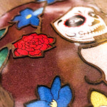 Load image into Gallery viewer, Day of the Dead Girl - Wood & Resin Case - Black