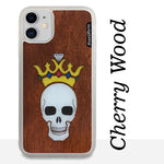 Load image into Gallery viewer, Forever King - Wood & Resin Case - White