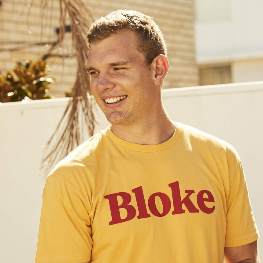 BLOKE ORIGINAL SHIRT - YELLOW