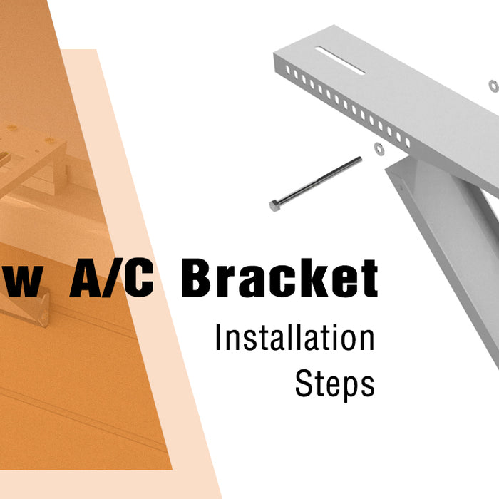 Install Window A/C Support Bracket In Just A Few Steps