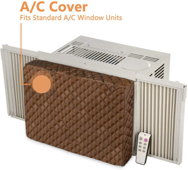 LBG Products Window A/C Cover for Inside, 28''L x 20''H x 4''D