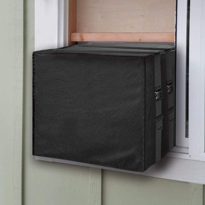 LBG Products Window A/C Outside Use Winter Cover, 17''Hx25''Wx21''D, Black
