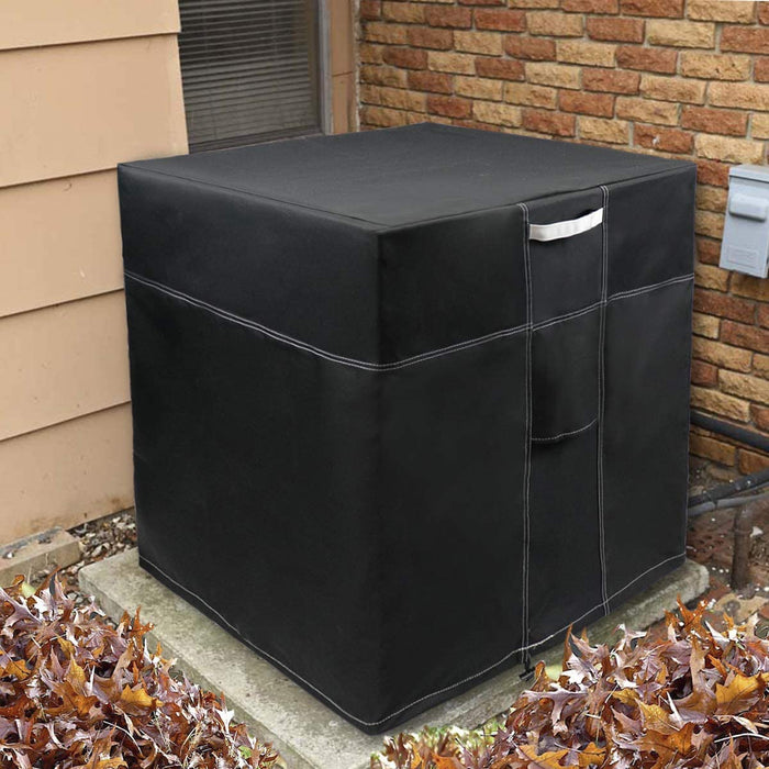 LBG Products A/C Condensing Outdoor Unit cover for Winter, Black,600D