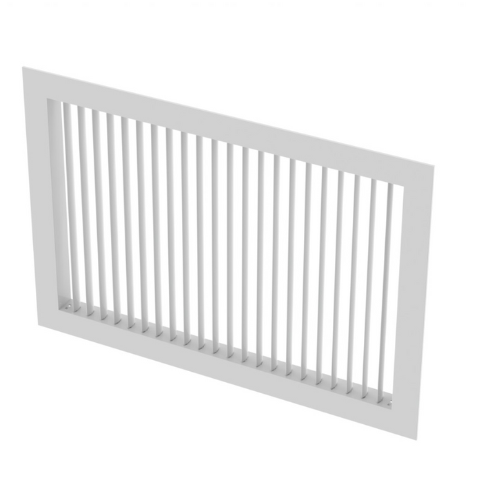 LBG Products Supply Air Grille Single Deflection