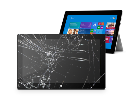 Microsoft Surface 1 screen crack