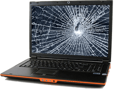 Gaming Laptop Screen Crack Repair Services