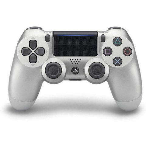 SONY OFFICIAL NEW DUALSHOCK 4 CUH-ZCT2 SERIES WIRELESS CONTROLLER FOR PS4 - SILVER