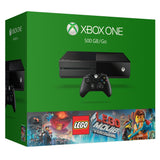 MICROSOFT XBOX ONE 500GB CONSOLE WITH LEGO THE MOVIE BUNDLE + ADDITIONAL FREE CONTROLLER