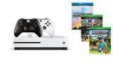 MICROSOFT XBOX ONE S 500GB CONSOLE WITH MINECRAFT BUNDLE + FREE EXTRA WIRELESS CONTROLLER