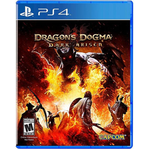 PS4 DRAGON DOGMA DARK ARISEN