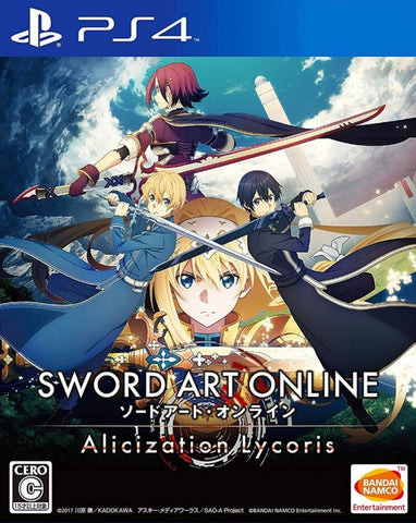 PS4 SWORD ART ONLINE: ALICIZATION LYCORIS