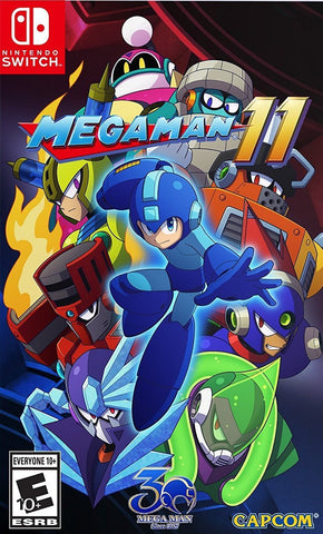 NINTENDO SWITCH MEGAMAN 11