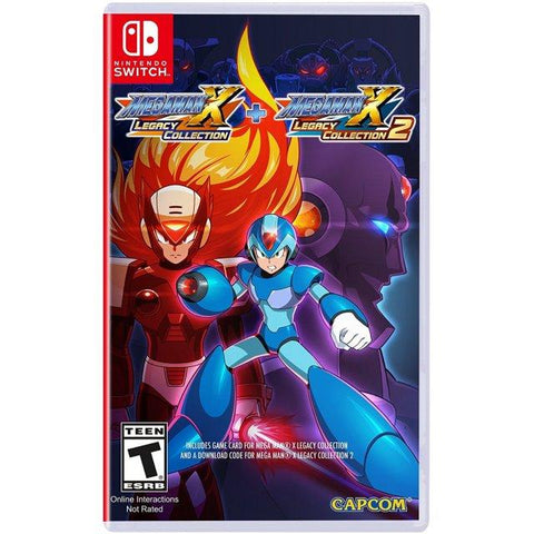 NINTENDO SWITCH MEGAMAN X LEGACY COLLECTION 1+2