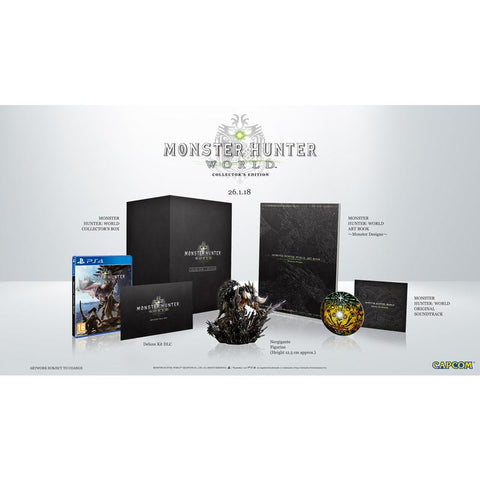 PS4 MONSTER HUNTER WOLD COLLECTOR EDITION