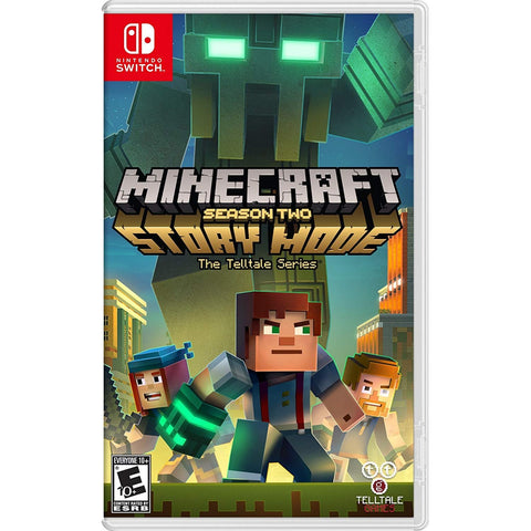 NINTENDO SWITCH MINECRAFT: STORY MODE - SEASON TWO - THE TELLTALE SERIES