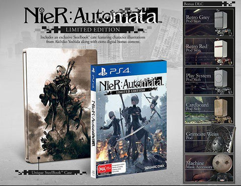 PS4 NIER: AUTOMATA LIMITED EDITION
