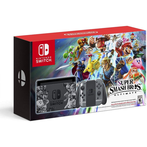 NINTENDO SWITCH SUPER SMASH BROS. ULTIMATE CONSOLE